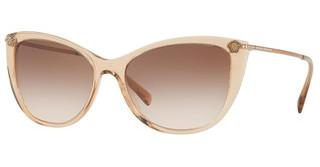 Versace VE4345B 521513 BROWN GRADIENTTRANSPARENT LIGHT BROWN
