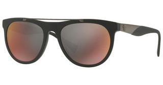 Versace VE4347 5122W6 DARK GREY MIRROR REDMATTE BLACK
