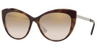 Versace VE4348 52697I BROWN MIRROR GOLD GRADDARK HAVANA