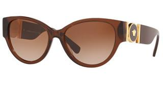 Versace VE4368 530813 BROWN GRADIENTTRANSPARENT BROWN