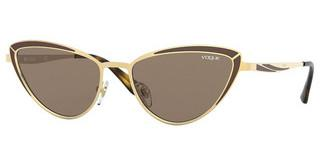 Vogue VO4152S 280/73 DARK BROWNTOP MATTE BROWN/GOLD