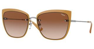 Vogue VO4158S 548/13 BROWN GRADIENTTOP GUNMETAL/OPAL HONEY