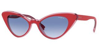 Vogue VO5317S 2811X0 CLEAR GRADIENT BLUETOP RED/PINK TRANSPARENT