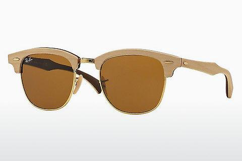 Sonnenbrille Ray-Ban Clubmaster Wood (RB3016M 1179)