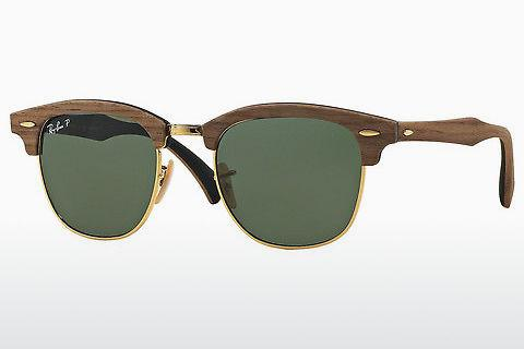 Sonnenbrille Ray-Ban Clubmaster Wood (RB3016M 118158)