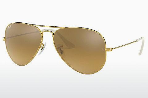Sonnenbrille Ray-Ban AVIATOR LARGE METAL (RB3025 001/3K)