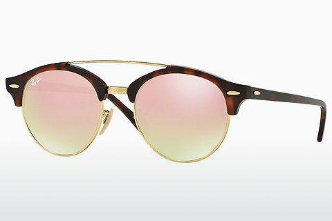 Sonnenbrille Ray-Ban Clubround Doublebridge (RB4346 990/7O)