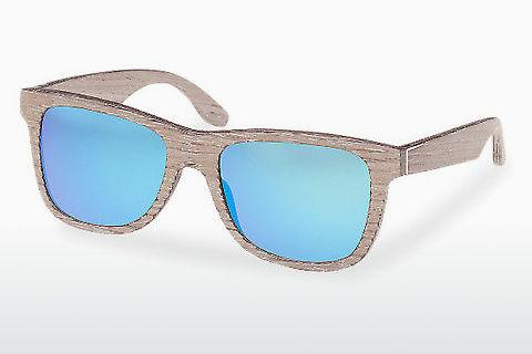 Sonnenbrille Wood Fellas Prinzregenten (10755 chalk oak/blue)