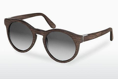 Sonnenbrille Wood Fellas Au (10756 black oak/grey)