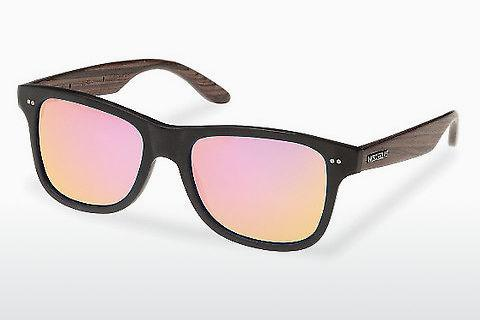 Sonnenbrille Wood Fellas Lehel (10757 rosewood/black/rose)