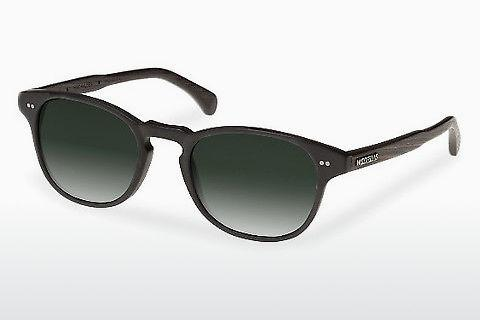 Sonnenbrille Wood Fellas Haidhausen (10758 ebony/black/green)