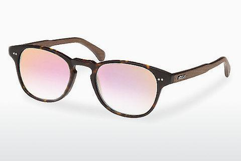 Sonnenbrille Wood Fellas Haidhausen (10758 walnut/havana/rose)