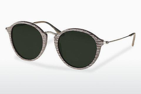 Sonnenbrille Wood Fellas Nymphenburg (10760 chalk oak)