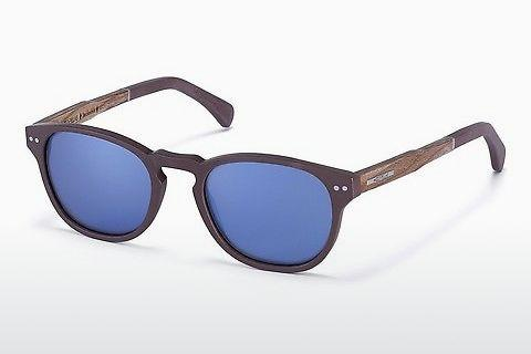 Sonnenbrille Wood Fellas Stockenfels (10771 zebrano)