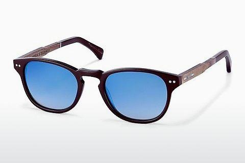 Sonnenbrille Wood Fellas Stockenfels (10775 zebrano)