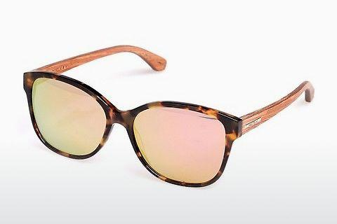 Sonnenbrille Wood Fellas Basic Wallerstein (10794 zebrano)