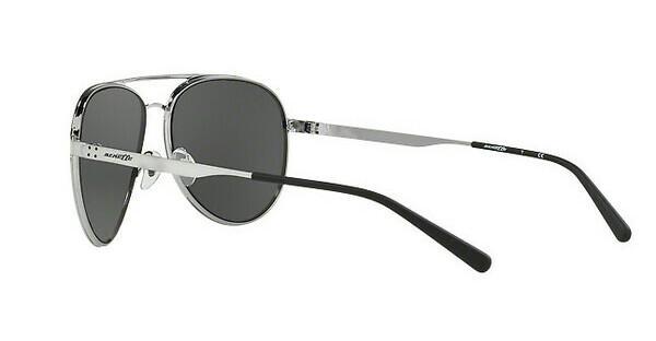 Arnette Herren Sonnenbrille »DWEET AN3071«, schwarz, 679/87 - schwarz/grau