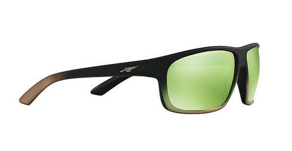 Arnette Herren Sonnenbrille »BURNOUT AN4225«, schwarz, 24258N - schwarz/grün