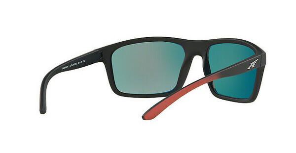 Arnette Herren Sonnenbrille »SANDBANK AN4229«, schwarz, 24266Q - schwarz/rot