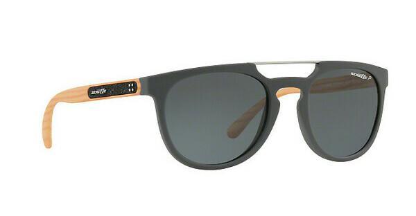 Arnette Herren Sonnenbrille »WOODWARD AN4237«, grau, 245481 - grau/grau