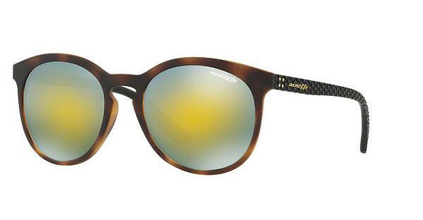 Arnette Herren Sonnenbrille »CHENGA R AN4241«, braun, 23758N - braun/grün