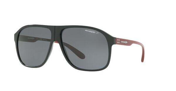 Arnette Herren Sonnenbrille »50-50 GRAND AN4243«, schwarz, 447/81 - schwarz/grau