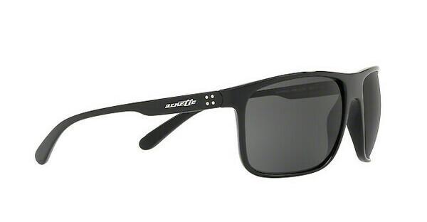 Arnette Herren Sonnenbrille »BUSHING AN4244«, schwarz, 41/87 - schwarz/grau