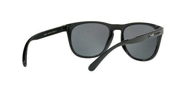 Arnette Herren Sonnenbrille »HARDFLIP AN4245«, schwarz, 41/81 - schwarz/grau
