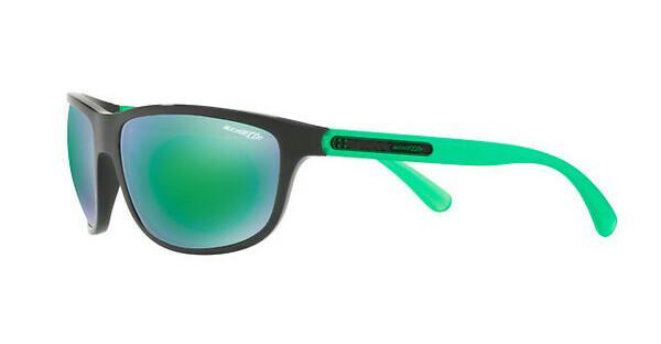 Arnette Herren Sonnenbrille »GRIP TAPE AN4246«, schwarz, 22453R - schwarz/grün