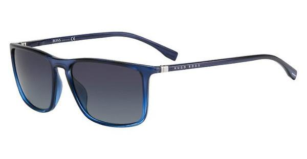 Boss Herren Sonnenbrille » BOSS 0994/F/S«, grau, RIW/XT - grau/blau