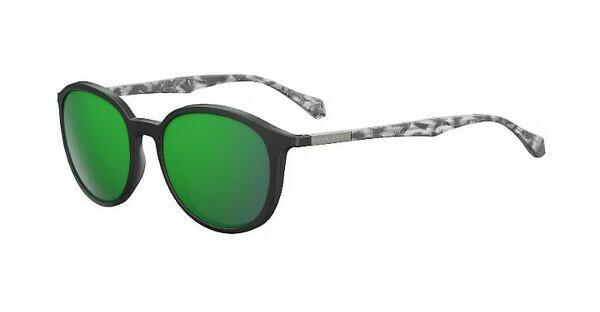 Boss Herren Sonnenbrille » BOSS 0822/S«, schwarz, YV4/Z9 - schwarz/grün