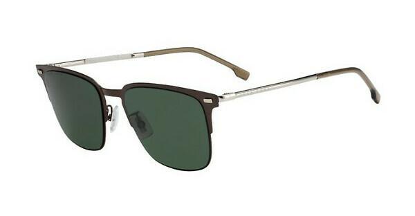 Boss Herren Sonnenbrille » BOSS 0951/F/S«, braun, 4IN/QT - braun/grün
