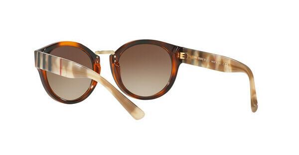 BURBERRY Burberry Damen Sonnenbrille » BE4227«, braun, 360579 - braun/blau