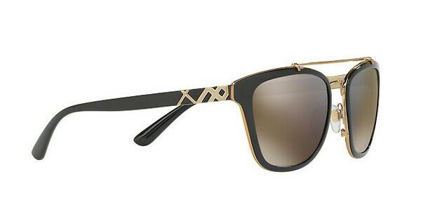 BURBERRY Burberry Damen Sonnenbrille » BE4240«, schwarz, 30014T - schwarz/gold