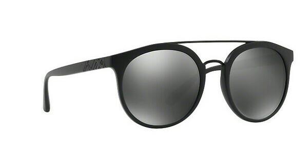 BURBERRY Burberry Herren Sonnenbrille » BE4245«, schwarz, 3464Z3 - schwarz/silber