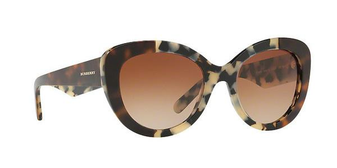 BURBERRY Burberry Damen Sonnenbrille » BE4253«, weiß, 365413 - weiß/braun