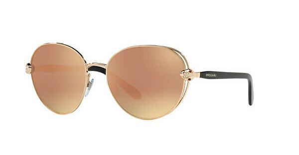 BVLGARI Bvlgari Damen Sonnenbrille » BV6087B«, rosa, 20144Z - rosa/gold