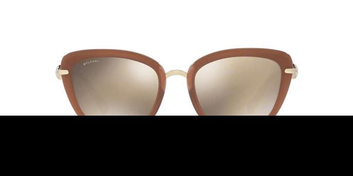 BVLGARI Bvlgari Damen Sonnenbrille » BV6094B«, weiß, 278/5A - weiß/gold