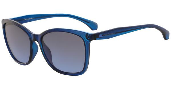 Calvin Klein Damen Sonnenbrille » CKJ512S«, blau, 465 - blau