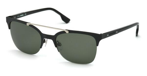 Diesel Herren Sonnenbrille » DL0254«, schwarz, 01E - schwarz/braun