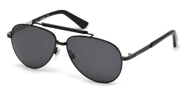 Diesel Herren Sonnenbrille » DL0250«, schwarz, 01A - schwarz/grau