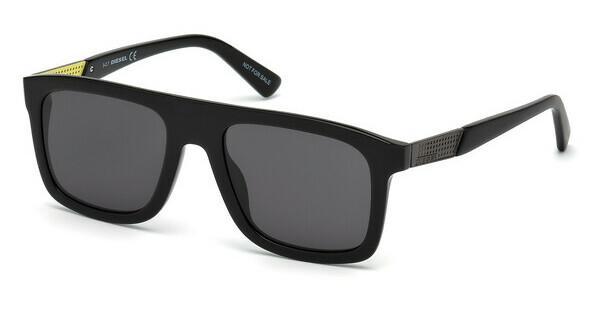 Diesel Herren Sonnenbrille » DL0256«, schwarz, 08A - schwarz/grau