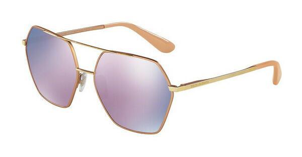 DOLCE & GABBANA Dolce & Gabbana Damen Sonnenbrille » DG4319«, rosa, 3164W9 - rosa/ lila