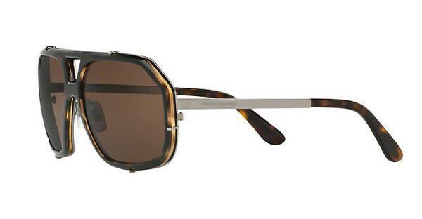 DOLCE & GABBANA Dolce & Gabbana Herren Sonnenbrille » DG4317«, braun, 502/71 - braun/grün