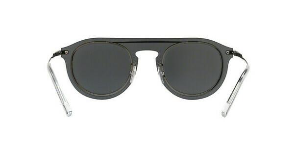 DOLCE & GABBANA Dolce & Gabbana Herren Sonnenbrille » DG2169«, grau, 04/6G - grau/schwarz