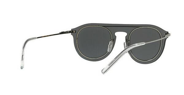 DOLCE & GABBANA Dolce & Gabbana Herren Sonnenbrille » DG2169«, grau, 488/6G - grau/silber