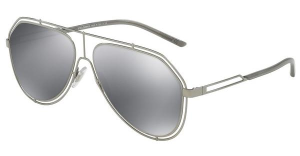 Dolce & Gabbana   DG2176 04/6G LIGHT GREY MIRROR BLACKGUNMETAL