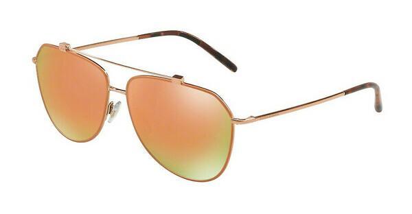 DOLCE & GABBANA Dolce & Gabbana Damen Sonnenbrille » DG2194«, rosa, 12984Z - rosa/ gold
