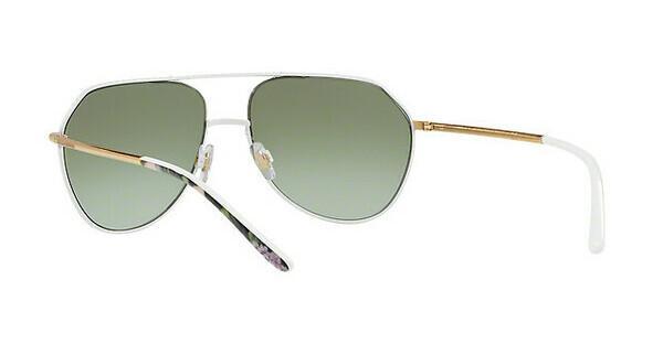 DOLCE & GABBANA Dolce & Gabbana Damen Sonnenbrille » DG2191«, weiß, 011/8E - weiß/grün