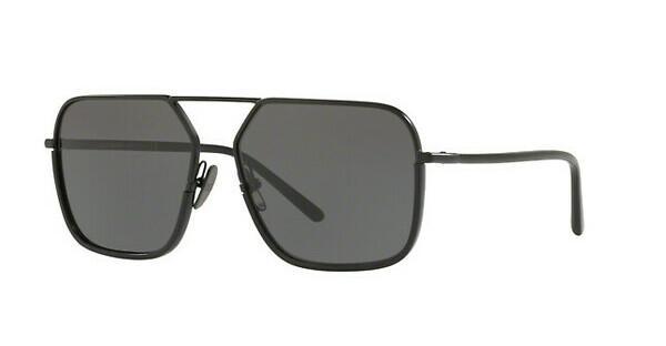 DOLCE & GABBANA Dolce & Gabbana Herren Sonnenbrille » DG2193J«, schwarz, 110687 - schwarz/grau